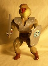 Vintage MOTU KO - Galaxy Fighter/Warriors SAHAK Snake - Complete Set - RARE