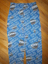 OREO SANDWICH COOKIE PAJAMA PANTS Dunk It Chocolate Creme Filling Lounge Pockets