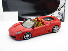 FERRARI F430 SPIDER RED ON TAN BY HOT WHEELS REGULAR EDITION 1:18 HARD TO FIND