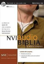 NUEVA VERSION INTERNACIONAL AUDIO BIBLIA/ NEW - NEW CD/SPOKEN WORD AUDIO BOOK