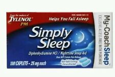 Tylenol Simply Sleep 200ct 1/17+ No box