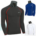 Mens Long Sleeve Compression Shirt Base Layer Thermal Armour Under Top T-Shirt