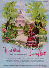 PermAllied Fabrics J FREDERICK SMITH Clothes At Your Sunday Best CHURCH SERVICE
