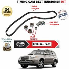 FOR SUBARU FORESTER 2.0 2.5 TURBO 4x4 2002-  NEW TIMING CAM BELT TENSIONER KIT