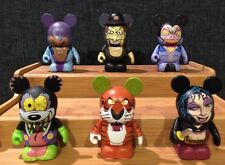 """Disney Vinylmation 3"""" -Villains Series 2 - Set Of 6 With Chaser - Mother Gothel"""