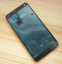 Black LCD Housing Screen Frame Panel Replacement For HTC One M7
