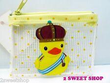 Japan ~ Harajuku Tokyo Cute Kawaii Polka Dot Duck Coin Purse -1