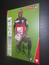 43518 Kim Jaggy FC Aarau original signierte Autogrammkarte