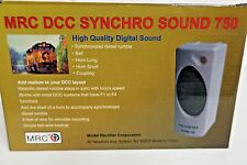 MRC DCC SYNCHRO SOUND 750  DIGITAL SOUND HO SCALE MRC-AD750 DECODER STATION