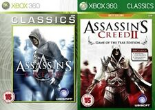 Assassin's Creed & Assassins Creed II Game of The Year edition     new&sealed