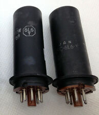 "RCA 6L6 Y 1614  2-Tubes ""Super 6L6"" subs for 5881 6L6gb 6L6wgb... MATCHED PAIR!"