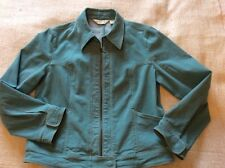 Orvis Country Wear Ladies Soft Green Stretch  Denim Jacket Size 14 Lovely