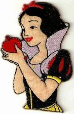 PRINCESS Snow White Embroidered Iron On / Sew On Patch