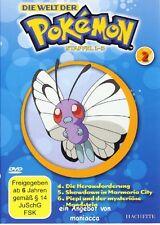 DIE WELT DER POKEMON 2 | 1. Staffel / Folgen 4-6 |  DVD #ZZ | Pokémon