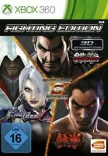 Xbox 360 Fighting Edition SoulCalibur V + Tekken Tag 2 + Tekken 6 TopZustand
