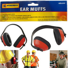 Ear Defender Noise Control Earmuffs Defenders Muff Plug Plugs Headband Work New