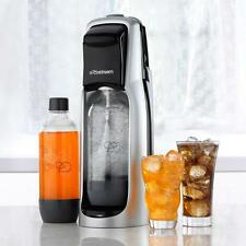 SodaStream Soda Jet Fountain Sparkling Water Maker Black and Silver Healthy Fun