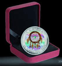 Kanada 10 Dollar Silbermünze PP Traumfänger (Dreamcatcher)