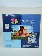 Epson PictureMate PM260 Personal Digital Photo Inkjet Printer
