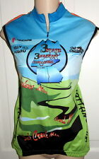 Misses Large Chatanooga 3 State Challenge Sleeveless Top 2008 Bike Cycling Shirt