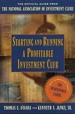Starting and Running a Profitable Investment Club - Thomas E. O'Hara - Paperback
