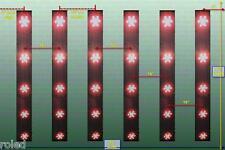 135 Watt Grow Led Pflanzenlampe Geräuschfrei Wuchs Hydrokultur 135W Growlight