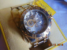 Invicta Reserve 52mm Leviathon Evolution Chronograph Stainless Steel Watch LQQK!