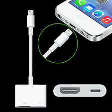 8Pin to HDMI Adapter HDTV AV Cable for iPhone 7 6S Plus iPad 4 Mini Air Pro