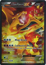 POKEMON CARDS GENERATIONS CHARIZARD-EX FULL ART HOLO PROMO CARD XY121 - NM/MINT