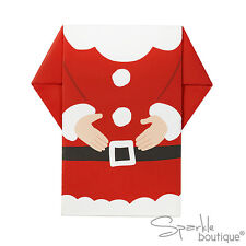 LUXURY SANTA NAPKINS -Father Christmas Design-Xmas Party / Buffet -RANGE IN SHOP