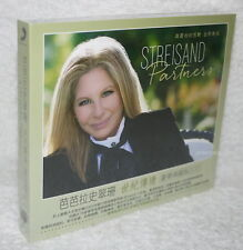 Barbra Streisand Partners 2014 Taiwan 2-CD w/BOX (digipak)