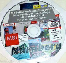 su CD Märklin Roco Fleischmann Tillig Trix Faller catalogo novità 2016 µ