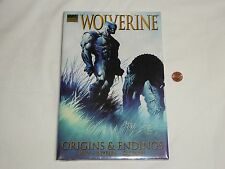 NEW Wolverine - Origins & Endings Hardcover Book SEALED Marvel Premiere Edition