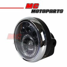7inch High Sport Front LED Head Light Motorcycle E-Mark Head Lamp
