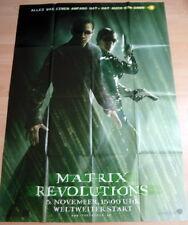 MATRIX REVOLUTIONS orig. deutsches Plakat A0 EA
