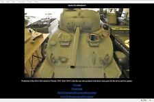 M4A1(75) Sherman Photo Detail CD-Rom Toadman's Tank Pictures  Download version