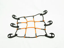 "4249 HitchMate 12"" X 12"" Net Cargo Stretch Web and Bag Motorcycle Helmet Fuel"