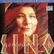 MERCEDES SOSA  SINO   (RELEASE 1993)  NEW-SEALED    CASSETTE