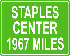 Los Angeles Lakers and Clippers Staples Center - distance to your house