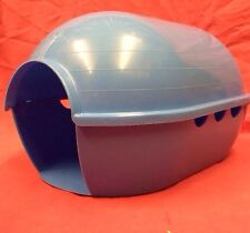 Guinea Pig House Blue Plastic 12 X8 Inch Rat ferret Degus Chinchilla TINY RABBIT