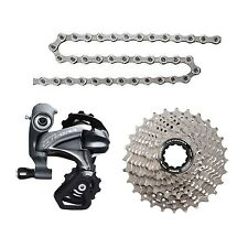 SHIMANO ULTEGRA 6800 GROUP SET 3pcs CS-6800 11-23T RD-6800-SS CN-HG701-11 11S W