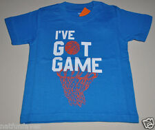Gymboree toddler boy i've got game tee shirt 12-18 months NWT top boys