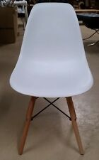Set of 4 Charles Eames Style DSW Mid Century Modern Chairs