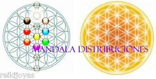 PACK 2 ADHESIVOS STICKER FLOR DE LA VIDA CUBO METATRON Sticker Flower of Life