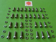 1977-79 suzuki gs1000 gs850 gs750 gs550 carburetor STAINLESS STEEL ALLEN SCREWS