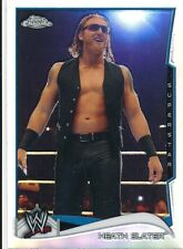 #69 HEATH SLATER 2014 Topps Chrome WWE REFRACTOR