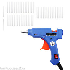 Professional Mini Electric Heating Hot Melt Glue Gun 20W + 50 Free Glue Sticks