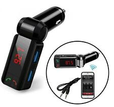 iClever Wireless Bluetooth FM Transmitter MP3 Player Radio Adapter Dual USB Port