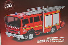 FIRE TRUCK RENAULT S180 MIDLINER GALLIN BOMBEROS FRANCIA SALVAT 1/43 New in Box.