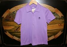 Womens Small Purple Golf Polo Shirt EP PRO / Easter Apparel SILVER SPRINGS CC